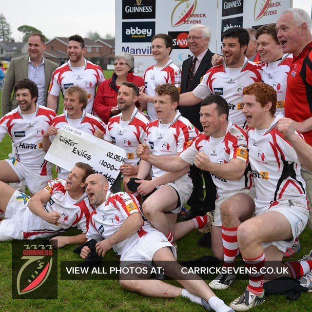 Ulster Exiles winning last Saturday! #carricksevens