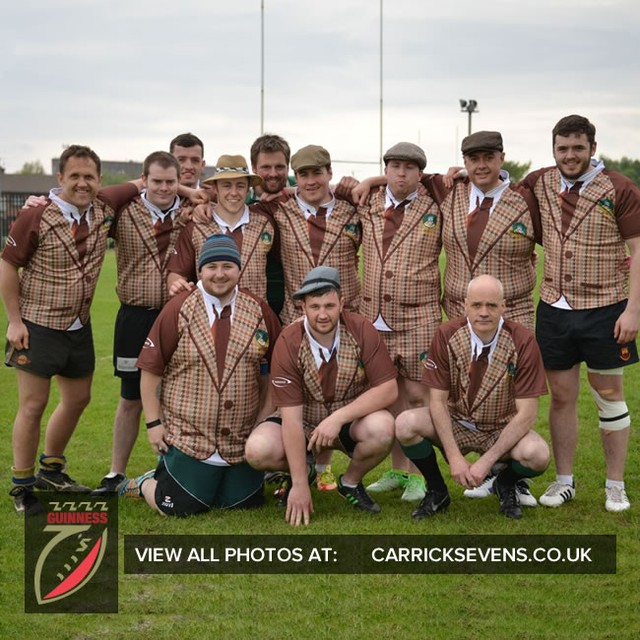 The ever young Forresters RFC, who have travelled from Scotland ever year! #carricksevens