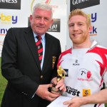 05 Michael Kirkwood of Ulser Exiles - Guinness Player of the Tournament
