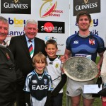 12 Queens - winners of the Simms Silver Salver at the Manvik Sevens