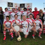 15 Ulster Exiles - winners of the Guinness Salver